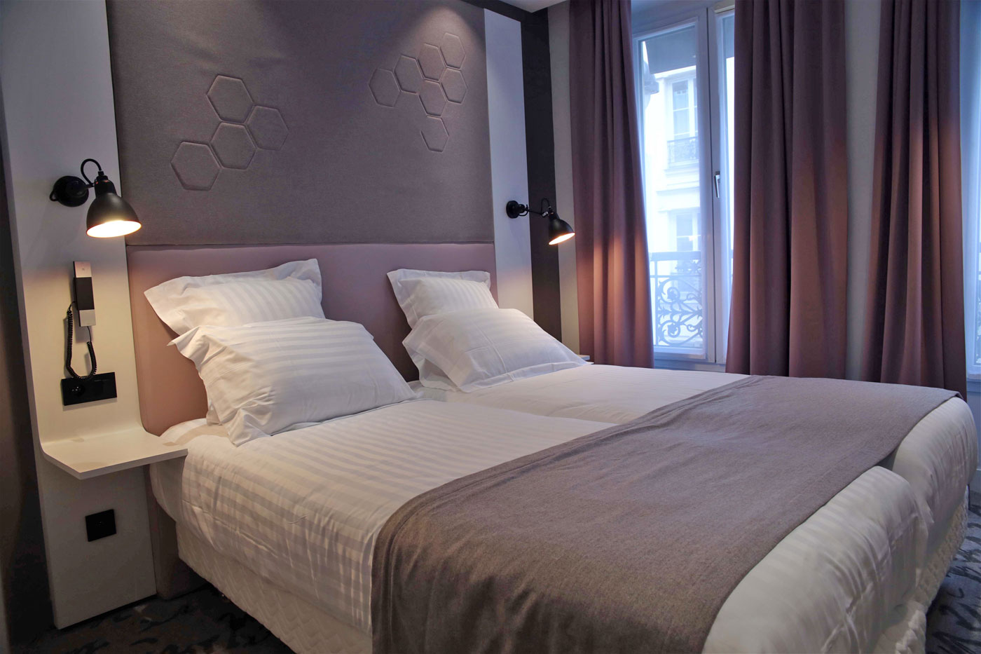 Hotel Vendome Saint Germain - Rooms